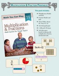 Multiplication & Fraction Printables